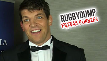 Friday Funnies - Team mate questions with Donncha O'Callaghan