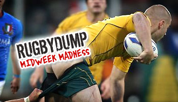 Midweek Madness - Drew Mitchell's cheeky run against Italy