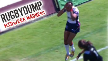 Midweek Madness - Kristen Thomas dropped ball blows great try