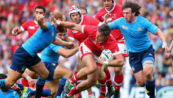 Canada come close to upsetting Italy in entertaining Pool D fixture