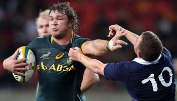 South Africa stun Scotland with eight-try romp in Port Elizabeth