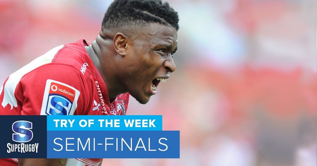 Aphiwe Dyantyi's Try of the Week might just be individual Try of the Season