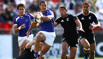 Samoa beat New Zealand in dramatic Vegas Sevens final