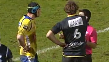 Jason Eaton and Julien Bonnaire fight as La Rochelle claims famous win