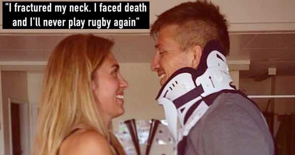 Inspirational story of Ed Jackson's fight with paralysis after nightmare accident