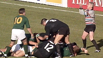 Ed Morrison admits that Springboks probably scored try in 1995 World Cup Final