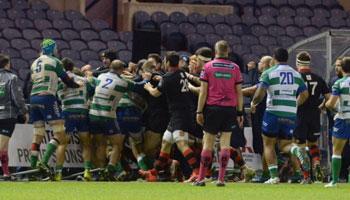 Romulo Acosta banned following Edinburgh vs Treviso brawl at Murrayfield