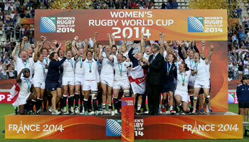 England win the Women's Rugby World Cup with victory over Canada