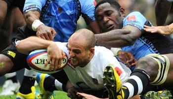England romp to convincing victory over Fiji at Twickenham