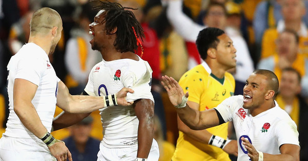 England start series on a high with first ever win over Wallabies in Brisbane