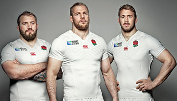 England Rugby World Cup 2015 shirt launched at Twickenham