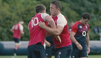 Stuart Lancaster on England's Rugby World 2015 Cup Squad