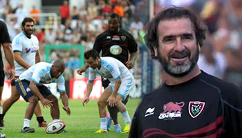 Toulon play Olympique Marseille in half rugby-half football charity match