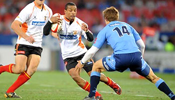 Fabian Juries brilliant individual try for the Cheetahs