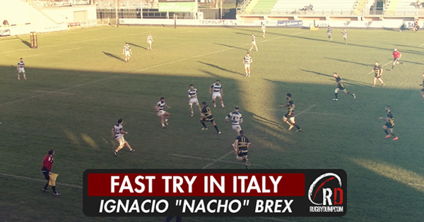 Rugby Viadana score one of the quickest ever tries from a restart