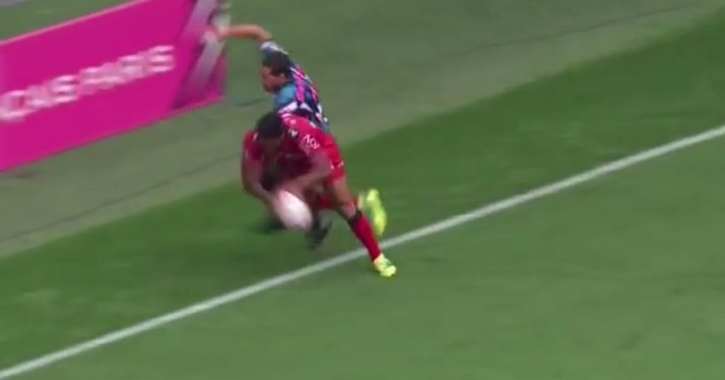 Malakai Fekitoa heroics leads to sensational try for Toulon