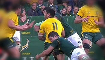 Flip van der Merwe suspended for one week for dangerous play