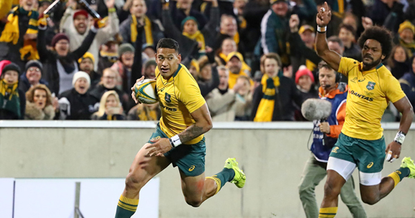 Wallabies come right with strong second half to see off Argentina