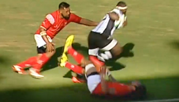 Levani Botia smashes Tonga to set up great Fijian try in Pacific Nations Cup