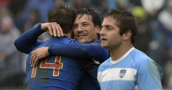 France bounce back with convincing victory over Argentina in second Test