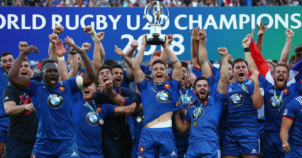 France beat England to win their first ever World Rugby U20 Championship