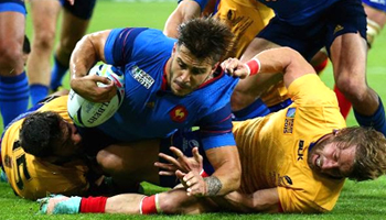 France claim second successive Pool D win with victory over Romania