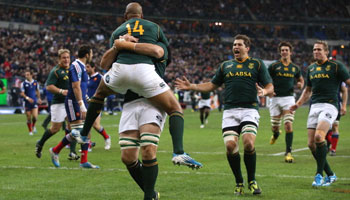 The Springboks end satisfying year with victory over France in Paris