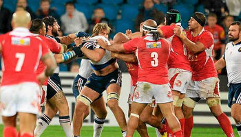 Sona Taumalolo and Yoann Maestri red carded for France vs Tonga fight