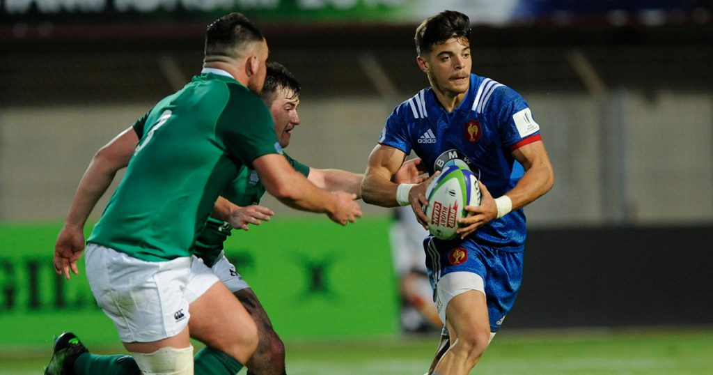 France youngsters score potential Try of the Tournament at U20 Championships