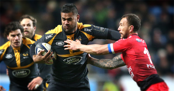 Wasps thump Toulon in Champions Cup upset in Coventry