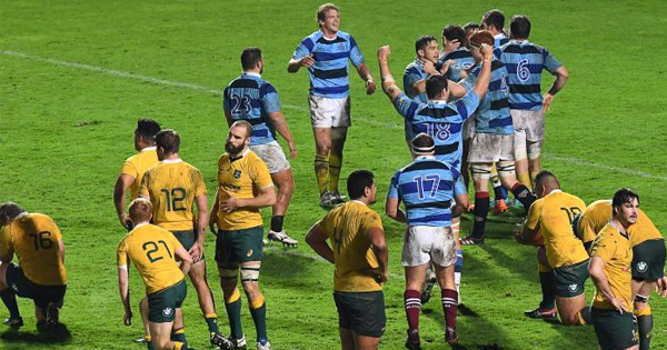 French Barbarians score late to secure win over Wallaby XV in Bordeaux