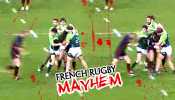 French Rugby Mayhem and Tana Umaga Red Card