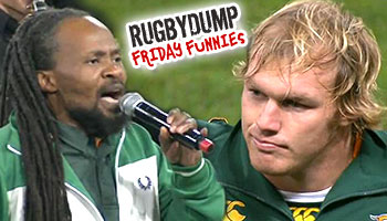 Friday Funnies - National Anthem goes up in smoke