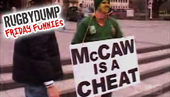 Friday Funnies - Richie McCaw is a cheat