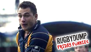Friday Funnies - Thinus Delport trips over the ball