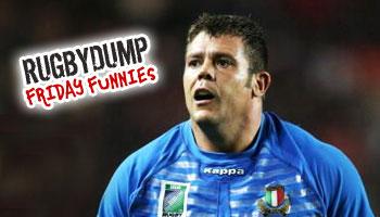 Friday Funnies - Andrea Lo Cicero watch your back