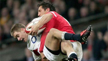 Gavin Henson Tackles 18 year old Matthew Tait in 2005