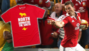 George North apologises for Genia taunt in first Test, PLUS new Lions shirts