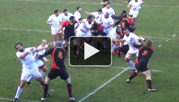 Big fight between Belgium and Georgia in Rugby World Cup qualifier