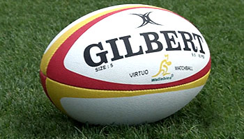 c89f3190 Gilbert unveil match ball for British & Irish Lions series in Australia |  RugbyDump - Rugby News & Videos