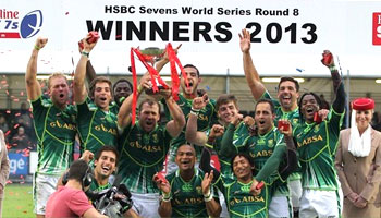South Africa win the 2013 Glasgow Sevens - Day Two Highlights