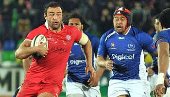 Georgia stun Samoa in historic game in Tbilisi