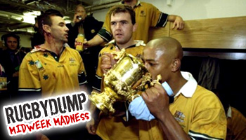 Midweek Madness - George Gregan's party trick