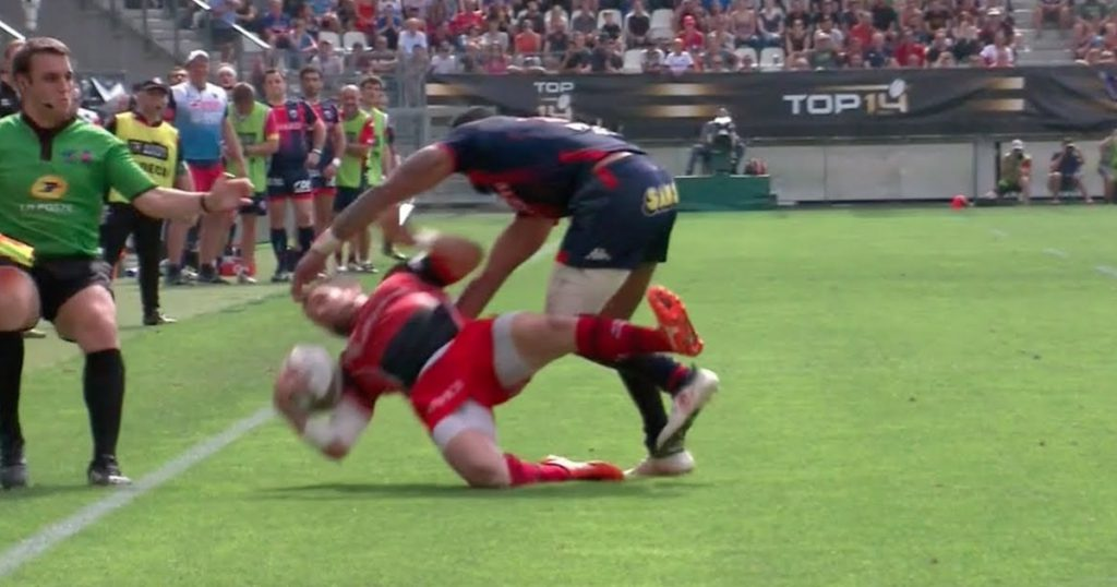 These monstrous hits between Grenoble and Oyonnax will make you wince