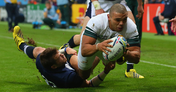 South Africa go top of Pool B with comfortable win over Scotland