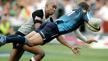 Bryan Habana scores dramatic try to win 2007 Super 14 final for the Bulls