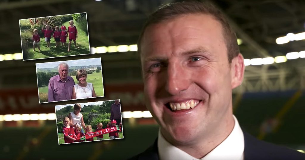 Kiwi Hadleigh Parkes chokes up from messages of support after Wales debut