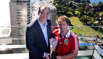 Leigh Halfpenny named British & Irish Lions HSBC Player of the Series