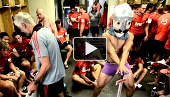 Friday Funnies - The Crusaders do the Harlem Shake