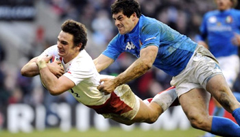 England victorious over Italy at Twickenham
